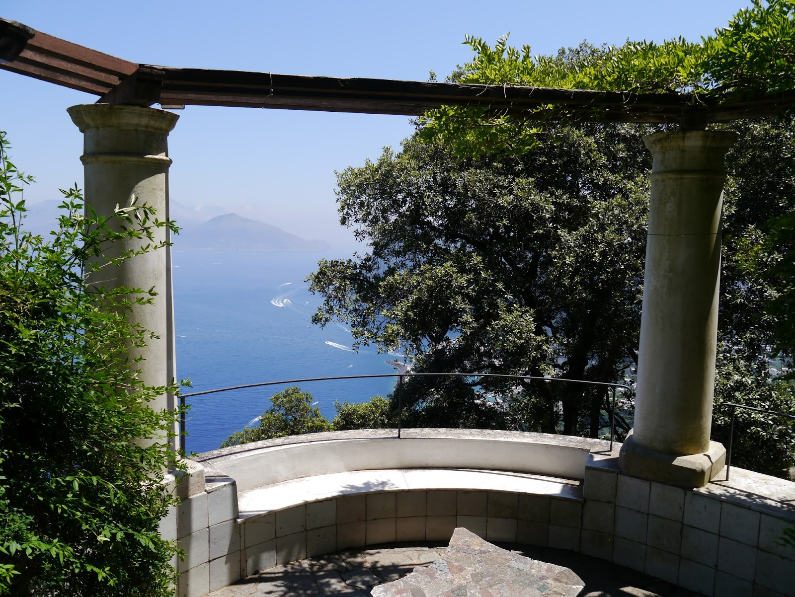 A Weekend On Capri Villa San Michele La Vie Boheme Travel